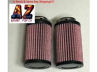 Pair Fit 87-06 K/&N Style Air Filter New Banshee YFZ350 AF0620 RU-0620