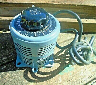 Powerstat Type Variac Variable Autotransformer 5060 Hz 1 Ph 240v X 280v