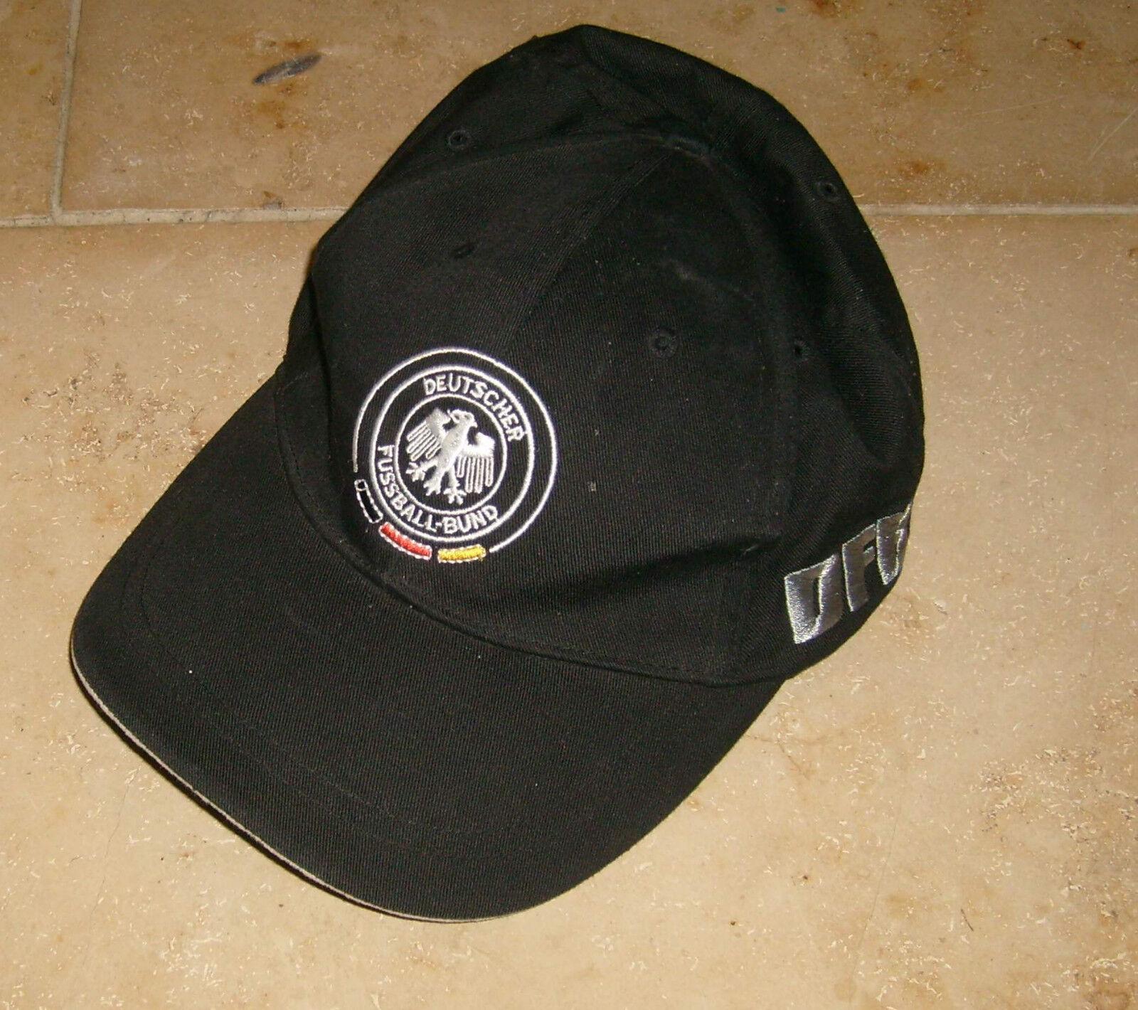 Kappe – Cap – Deutscher Fussball-Bund – DFB schwarz – 1954-1974-1990