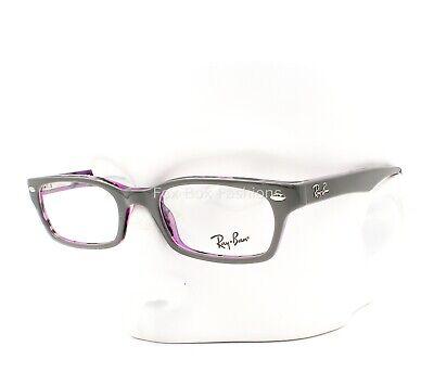 Ray-Ban RB 5150 5718 Eyeglasses Frame Glasses Grey on Havana Violet (Ray Ban Plastic Frame Glasses)