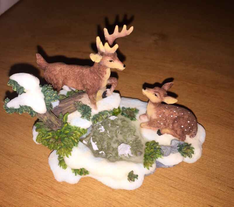 Village Deer Accessory Dicken Holiday Collectible Hunting Decoration