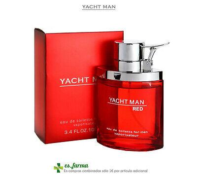 Yacht Man Red Men Parfüm Herren Eau De Toilette 100ML Fragrance Yachtman Homme - Red Parfüm Eau De Toilette