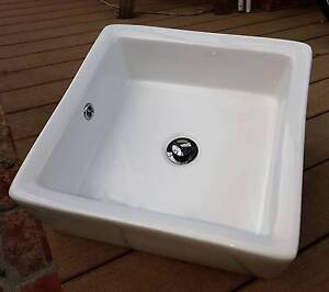 Vitreous China Vanity Basins - OR Balcony Herb planters. Richmond Yarra Area Preview