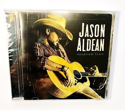 Jason Aldean Rearview Town Cd 2018 Album Brand New Sealed   Ships Fast