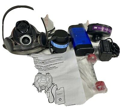 3m Powerflow Face-mounted Papr Air Purifying Respirator 6800pf Medium