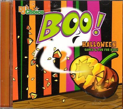 DJ's Choice BOO! HALLOWEEN GAMES & FUN FOR KIDS: HOLIDAY PARTY SONGS & GAMES OOP