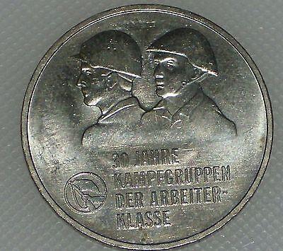 DDR 10 Mark 30 Jahre Kampfgruppen 1983