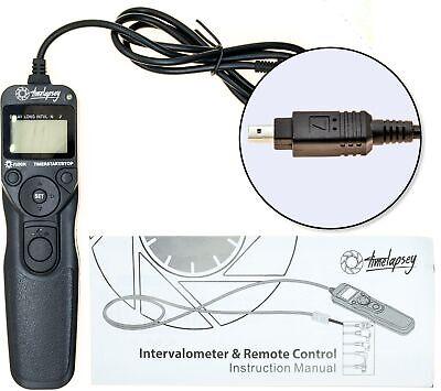 DSLR Intervalometer / Timer Shutter Release for Time-lapse Photography + Astro L