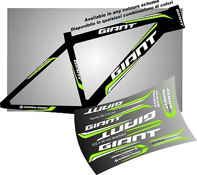 Giant bike bici adesivi stickers aufkleber autocollant welcome intern buyers