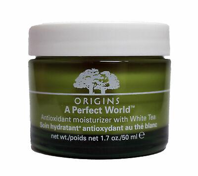 ORIGINS A Perfect World Antioxidant Moisturizer Cream with White Tea 1.7oz (Antioxidant Moisturizer White Tea)