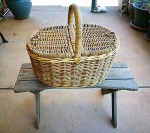 Adelaide pick up Large wicker cane basket Morphett Vale Morphett Vale Area Preview