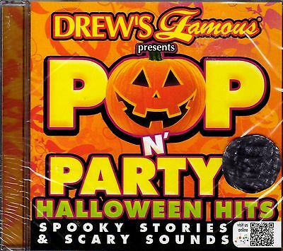 Drew's Famous POP N' PARTY HALLOWEEN HITS SPOOKY STORIES & SCARY SOUNDS 2015 NEW - Famous Halloween Stories