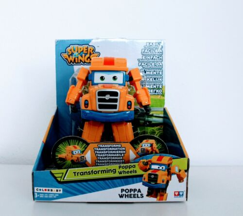 Super Wings Transform Figur Poppa Wheels Kinderspielzeug Kindergeschenk NEU&OVP