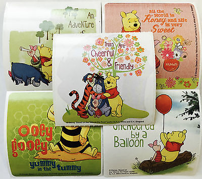15 Disney Springtime Winnie the Pooh Stickers Party Favors Tigger Eeyore Piglet - Winnie The Pooh Party