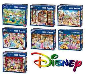 Disney-Official-Licensed-1000-Piece-Jigsaw-Puzzles-Choice-of-7-Cartoon-Designs