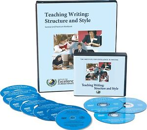 IEW Teaching Writing Structure & Style, Pudewa, homeschool curriculum, NEW
