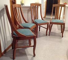 Dining Chairs Safety Beach Coffs Harbour Area Preview