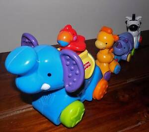 Fisher Price Press and Go Animal Parade Ipswich Ipswich City Preview