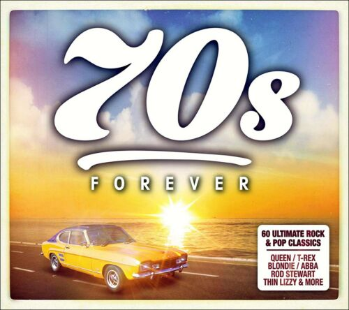60 Greatest Hits of the SEVENTIES  *  New 3-CD Boxset  * All Original 70