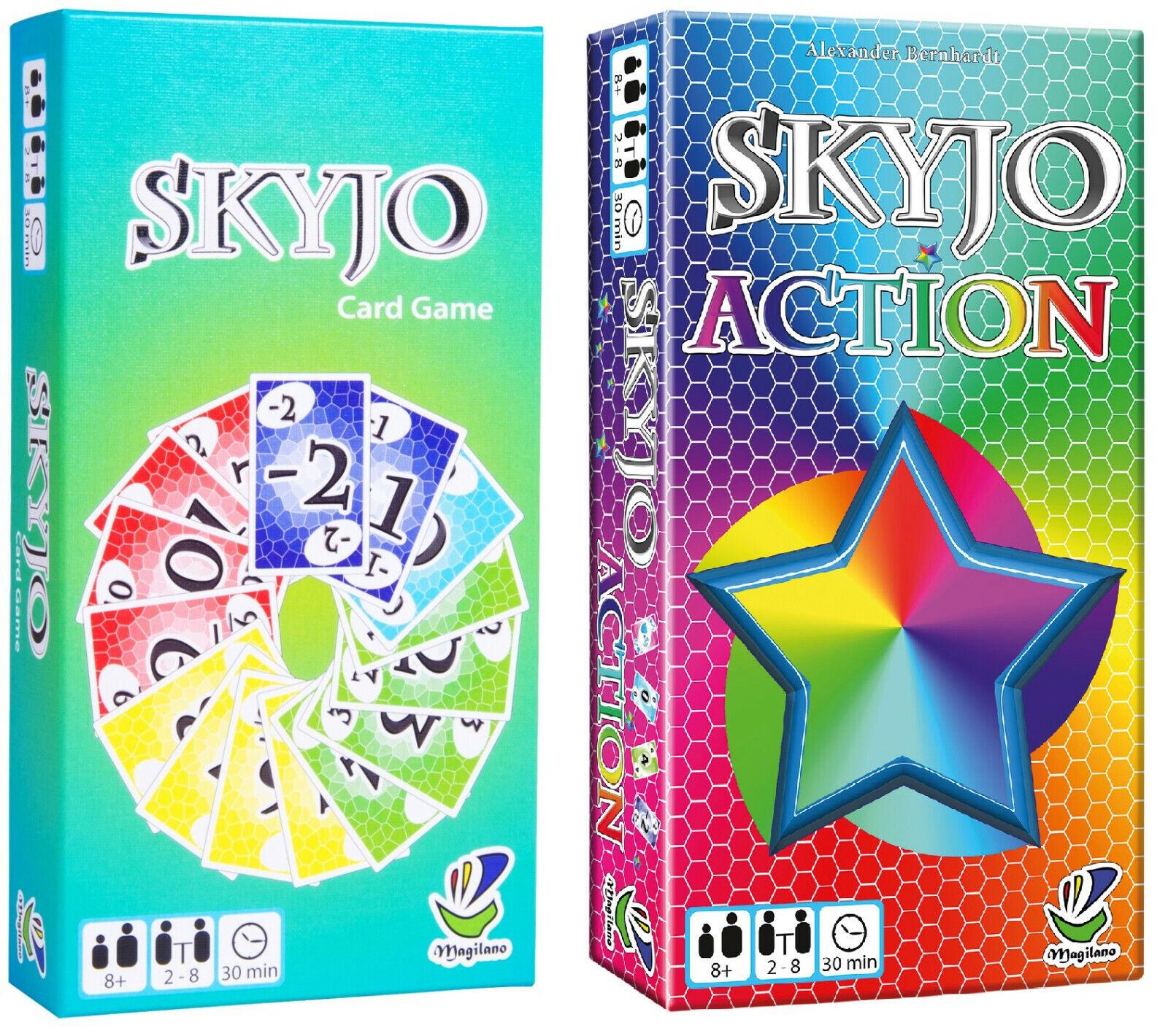 SKYJO / SKYJO ACTION von Magilano - Kartenspiel - NEU & OVP