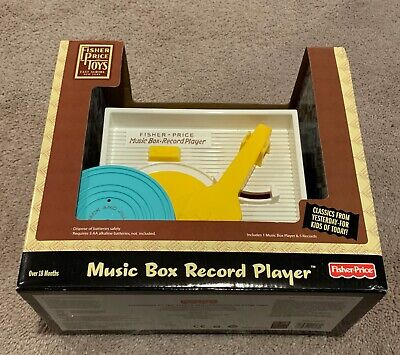 Fisher Price Music Box Record Play New In Box