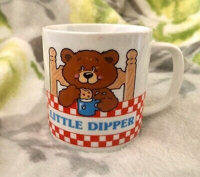 Avon Vintage Little Dipper Coffee Cup Child's Mug Baby Bear 6 oz