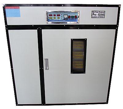 Rite Farm Products Pro-1056 Cabinet Incubator Hatcher 1056 Chicken Egg Capacit