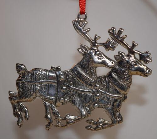 Reed & Barton Silver Plate Santa