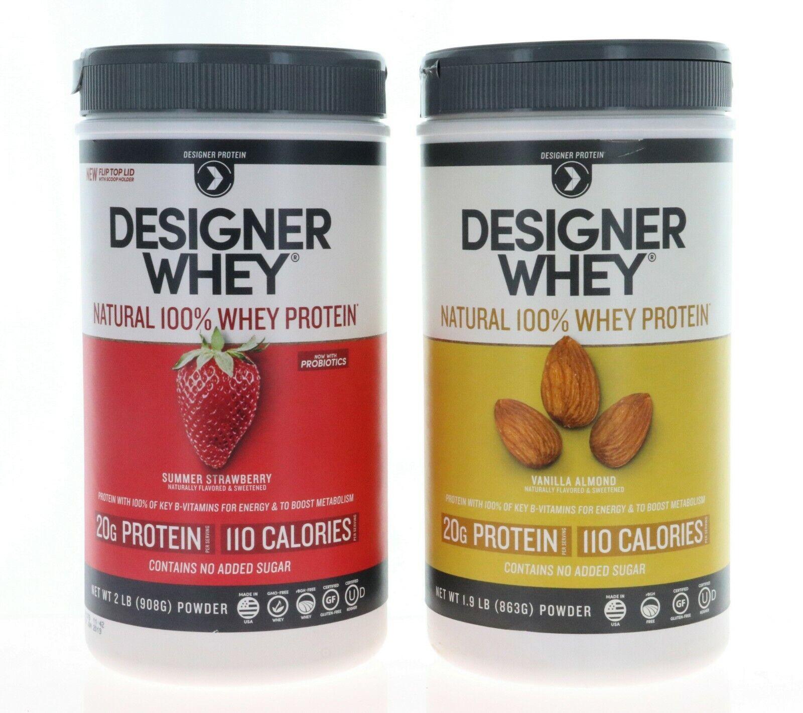 Designer Protein Designer Whey Natural 100% Whey Protein 2 l