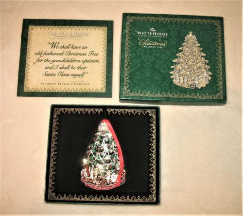 The White House Historical Association Christmas Ornament 2008 - NIB - Holiday