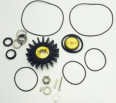 Water Pump Impeller & Seal Kit Boat Ship Yacht KitUnknown Fitment
