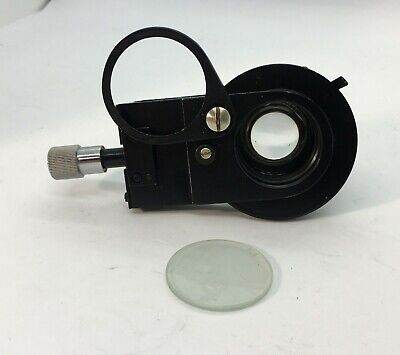 Lomo Condenser Microscope Directoblique Light Oi-14 A14 D37mm. Light Filter