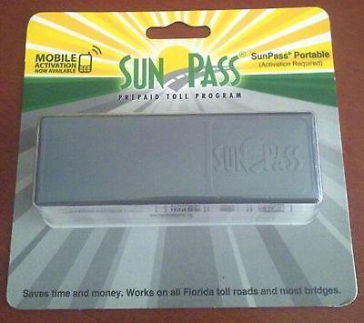 Florida SunPass Portable Toll Road Transponder, Epass Compatible NEW