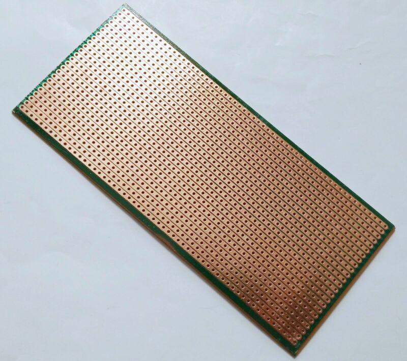 6.5x14.5cm Stripboard Veroboard Uncut PCB Platine Single Side Circuit Perf Board