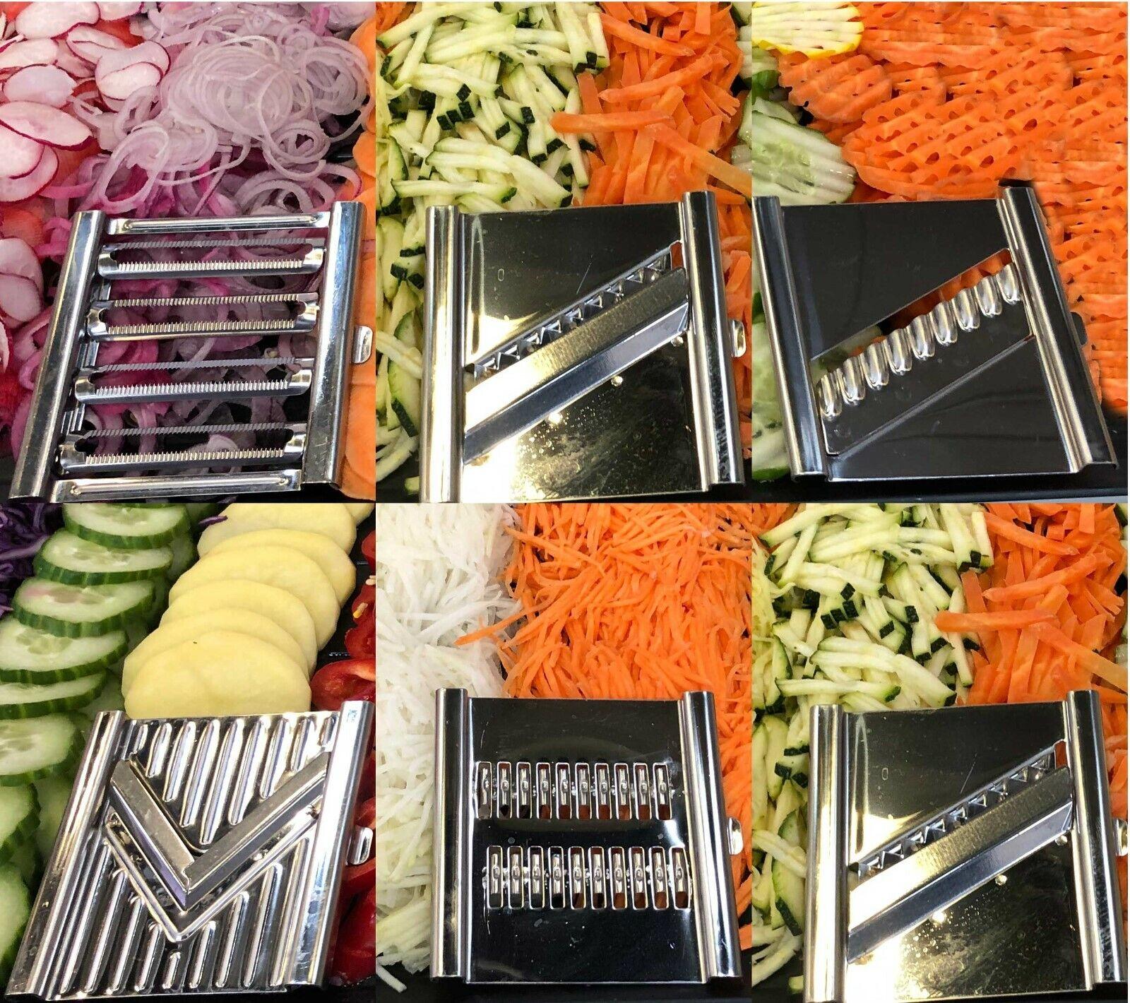 GIGANT Multihobel schneller 4 fach Gemüsehobel zusätzliche Einsätze Varianten