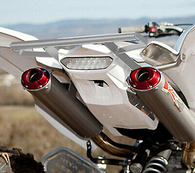 Yamaha Raptor 660 2001-2005 ATV Rear Grab Bar Bumper Silver