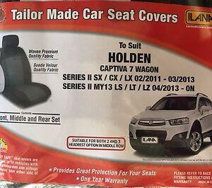 Captiva 7  Seat Covers Dimbulah Tablelands Preview