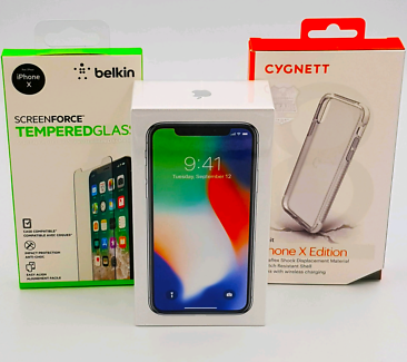Brand New Sealed Iphone X 256gb Silver