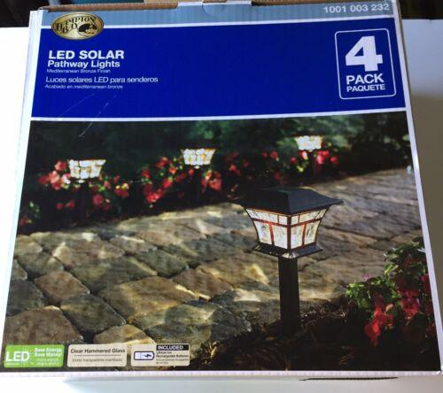 Hampton Bay Bromeliad Brown Plant Solar Led Light S7 8812 For Sale Online Ebay