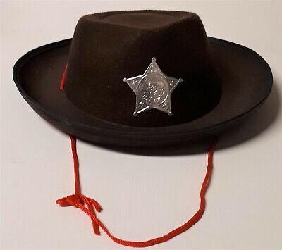 Amscan Kinder Cowboy Hut Ranger Sheriff Wilder Westen - Sheriff Hut
