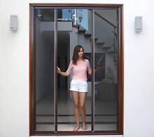 Retractable Fly Screens to suit French Doors Bi Fold door windows Oatley Hurstville Area Preview