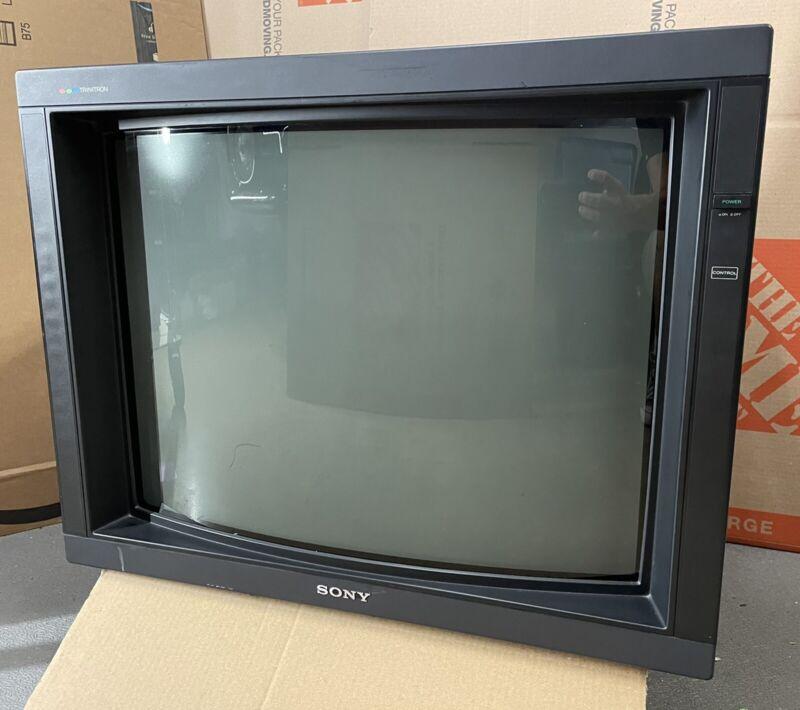 Sony PVM-2530 CRT Trinitron Retro Gaming monitor