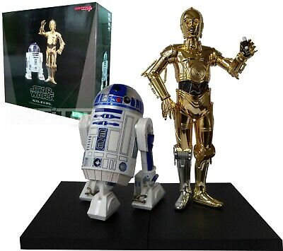 Kotobukiya Star Wars C3-PO and R2 D2 ARTFX+ Figures
