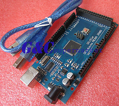 Mega 2560 ATmega 2560 R3 Microcontroller Board Compatible CH340G Arduino M47