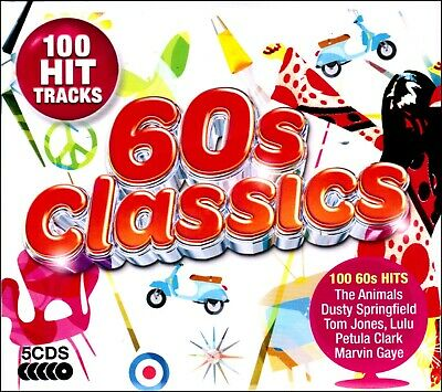 100 Greatest Hits of the SIXTIES * New 5-CD Boxset * All Original 60's Hits *NEW