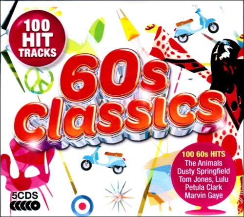 100 Greatest Hits of the SIXTIES * New 5-CD Boxset * All Original 60