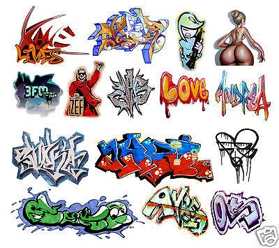 O Scale Custom Graffiti Decals #5 - Weather Your Box Cars, Gondolas & Hoppers!