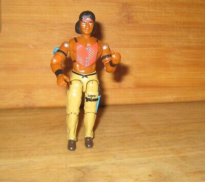 "Lanard CORPS TRACKER TOM Indian 4"" Action Figure 1997"