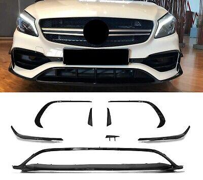 "Für Mercedes-Benz A-Klasse W176 A45 AMG Look Edition Aero Spoiler Flaps Flics"""