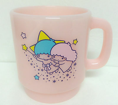Sanrio Little Twin Stars Pink Plastic Cup From Japan kawaii